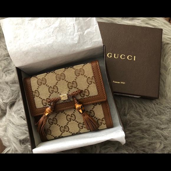 Gucci Guccissima Bella French Flap Wallet